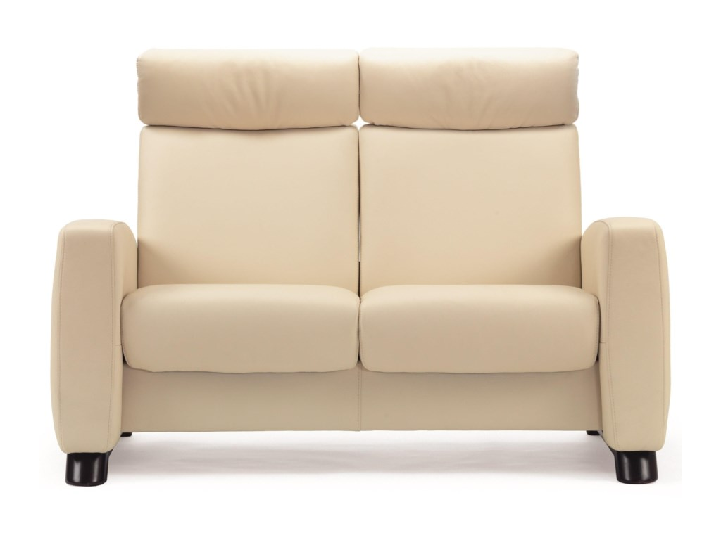 Stressless Arion 19 - A10High-Back Reclining Loveseat