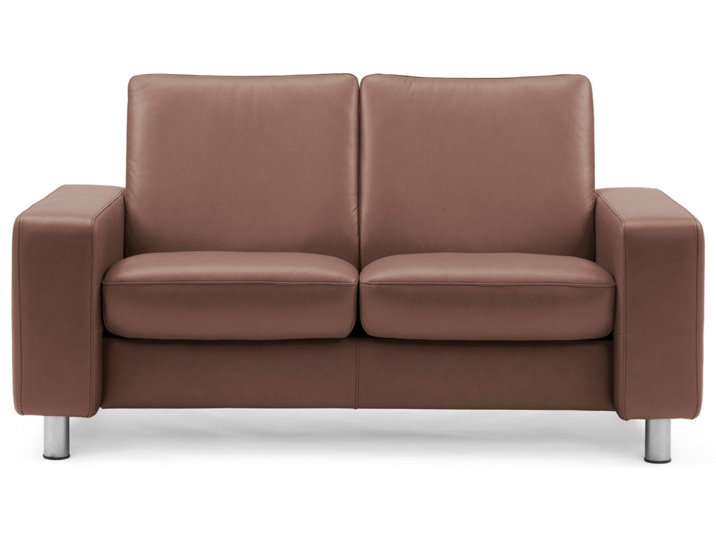 Stressless Arion 19 - A20Low-Back Reclining Loveseat