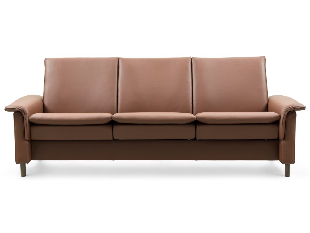 Stressless AuroraLow-Back Reclining Sofa