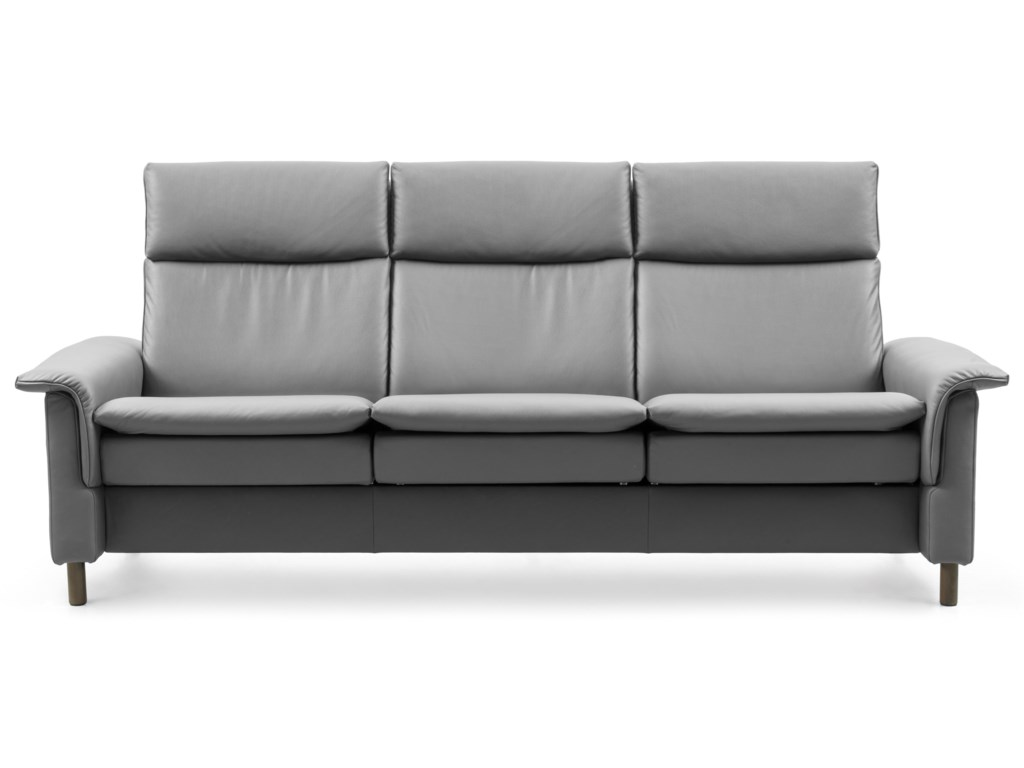 Stressless AuroraHigh-Back Reclining Sofa