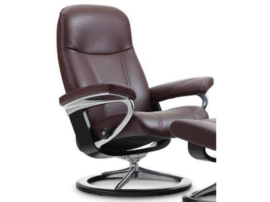Stressless ConsulMedium Reclining Chair with Signature Base