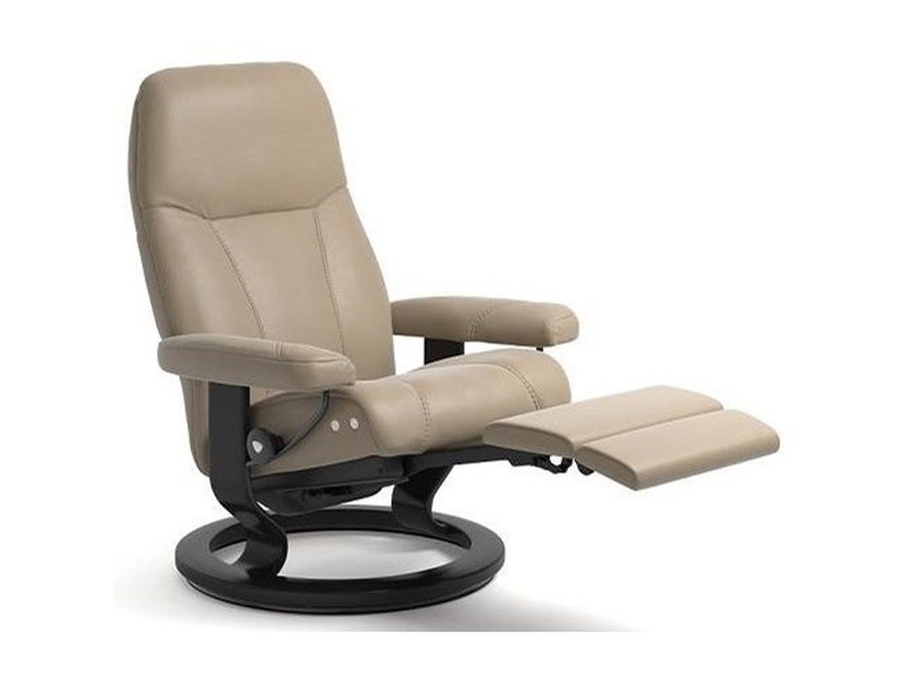 Stressless ConsulMedium LegComfort Chair with Classic Base