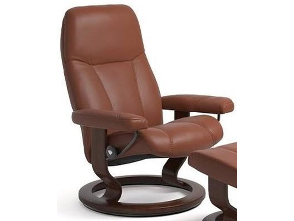 Stressless ConsulLarge Reclining Chair with Classic Base