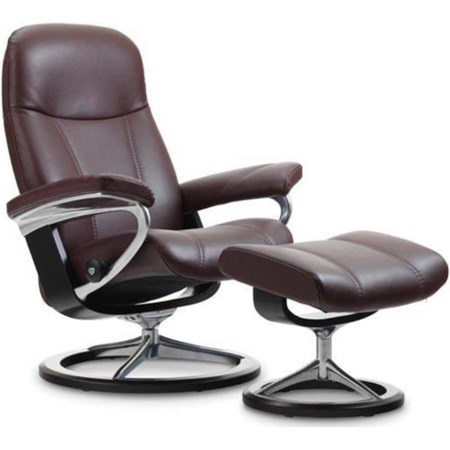 Medium Reclining Chair and Ottoman