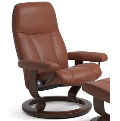 Stressless ConsulSmall Reclining Chair with Classic Base