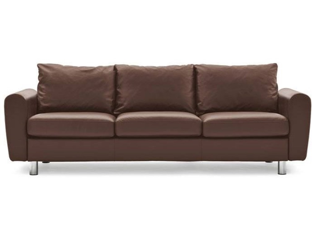 E700 3 Seater Sofa With Ergoadapt System By Stressless