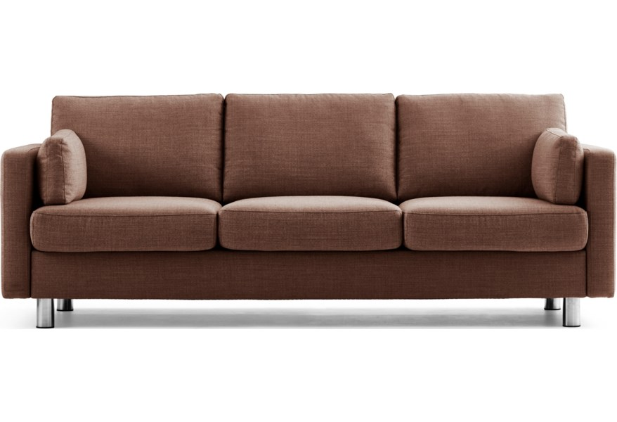 Stressless Emma E600 Contemporary Reclining Sofa | Virginia ...