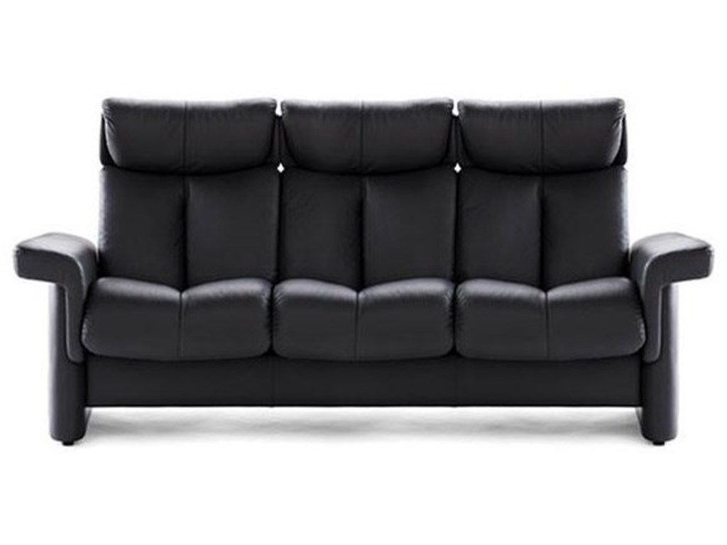 Stressless Legend 1280030 High-Back Reclining Sofa | John V Schultz ...