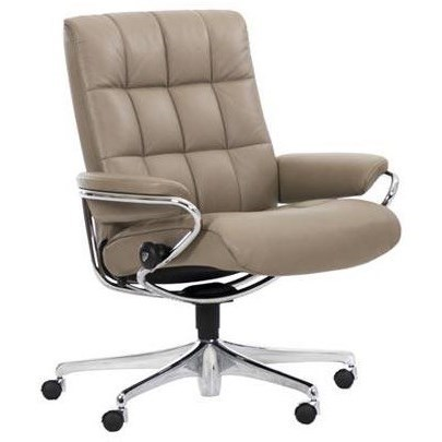 Stressless LondonOffice Chair with Low Back