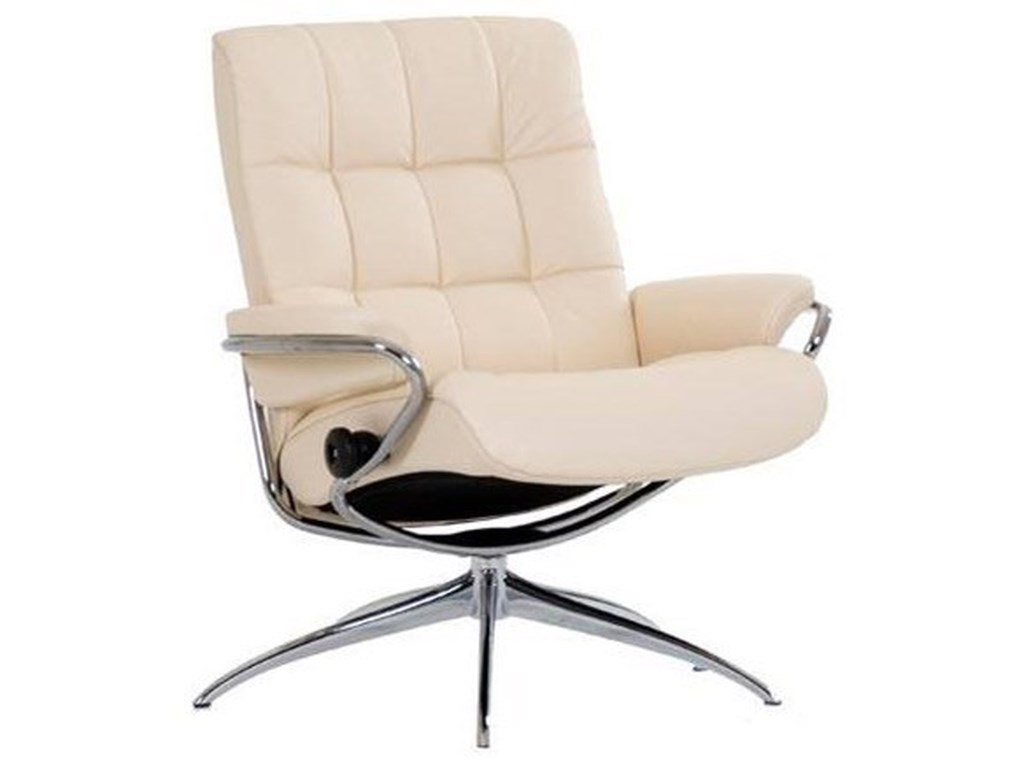 Stressless LondonLow Back Recliner with High Star Base