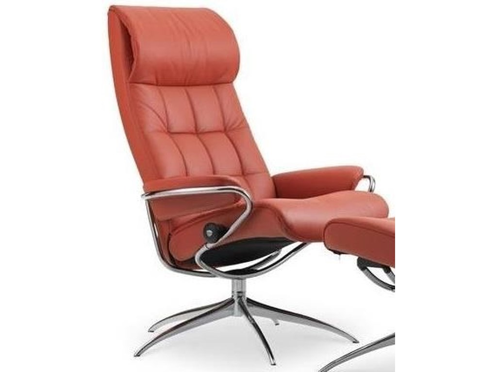 Stressless LondonHigh Back Recliner with Standard Star Base