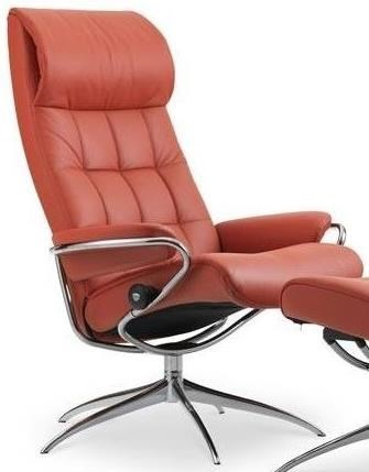 Stressless LondonHigh Back Recliner with High Star Base