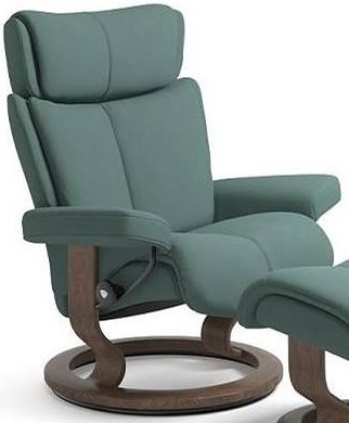 Stressless Magic Large Reclining Chair with Classic Base