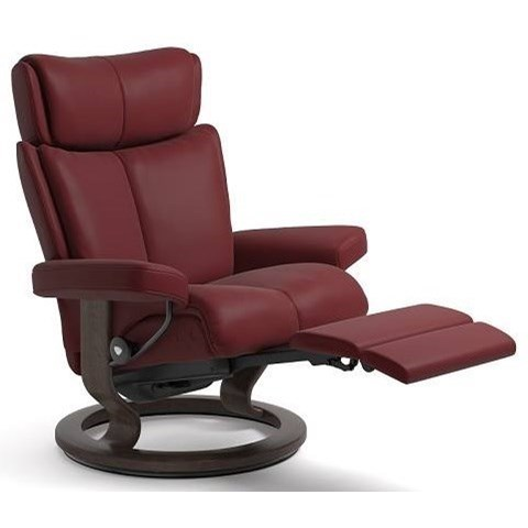 Stressless MagicLarge LegComfort Chair with Classic Base