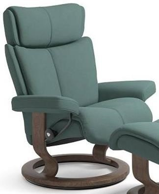 Stressless MagicMedium Reclining Chair with Classic Base