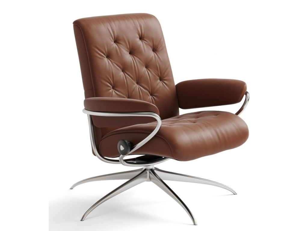 Stressless MetroLow Back Recliner with High Star Base