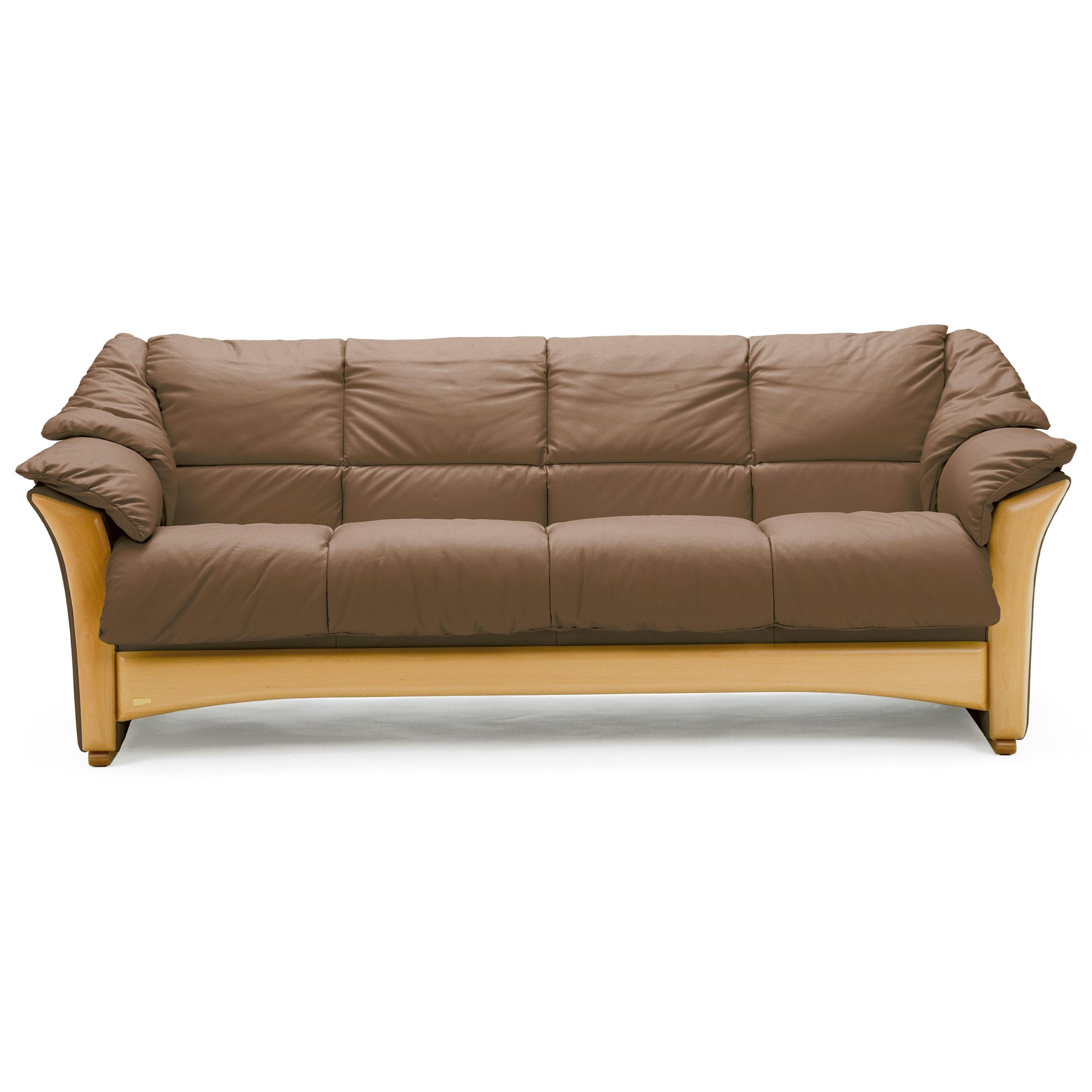 Beau Stressless Oslo 4 Cushion Sofa | Rotmans | Sofas