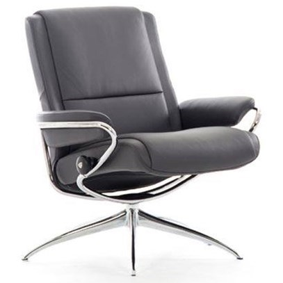 Stressless ParisLow Back Recliner with High Star Base