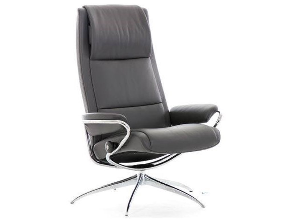 Stressless ParisHigh Back Recliner with High Star Base