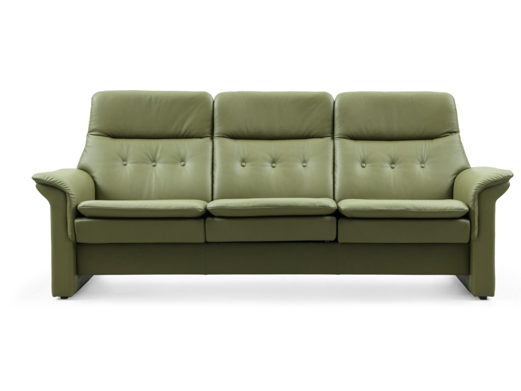 Stressless SagaHigh-Back Reclining Sofa