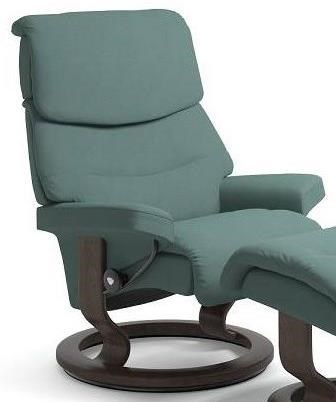 Stressless CapriSmall Reclining Chair with Classic Base