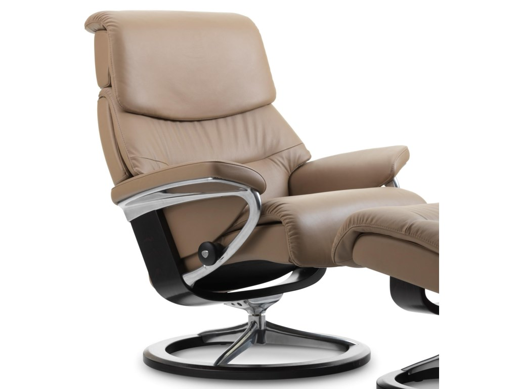 Stressless CapriMedium Reclining Chair with Signature Base