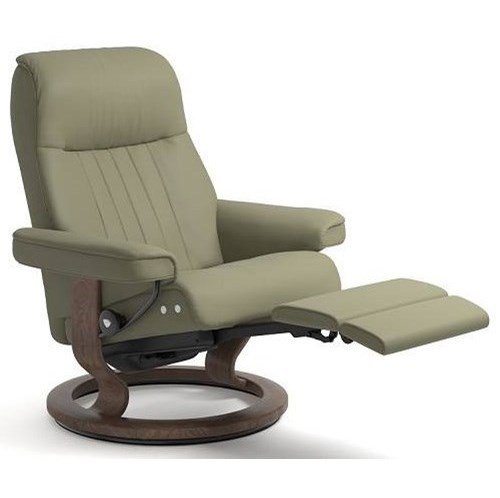 Stressless CrownLarge LegComfort Chair with Classic Base