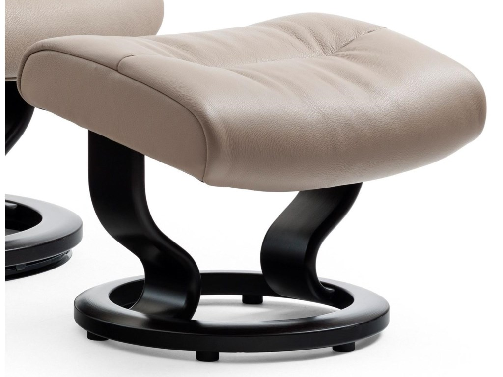 Stressless CrownClassic Base Ottoman