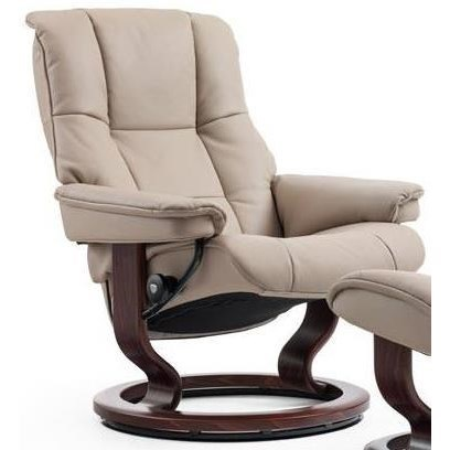 Stressless MayfairSmall Reclining Chair with Classic Base