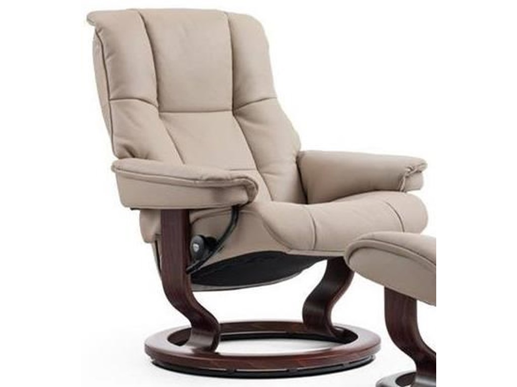 Stressless MayfairMedium Reclining Chair with Classic Base