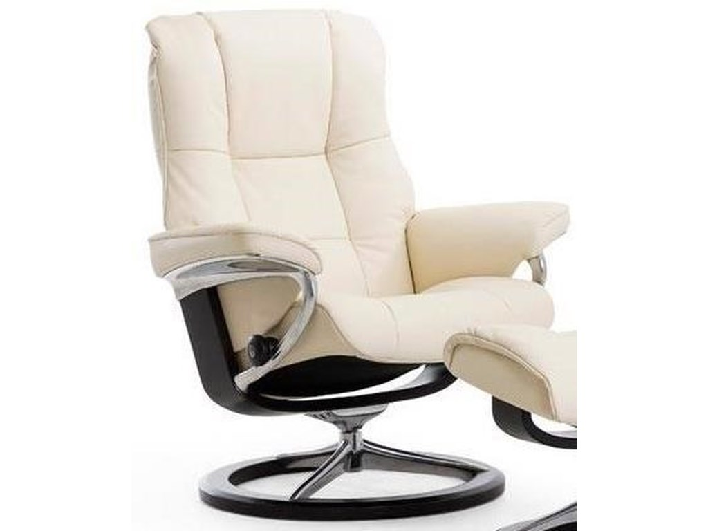 Stressless MayfairMedium Reclining Chair with Signature Base