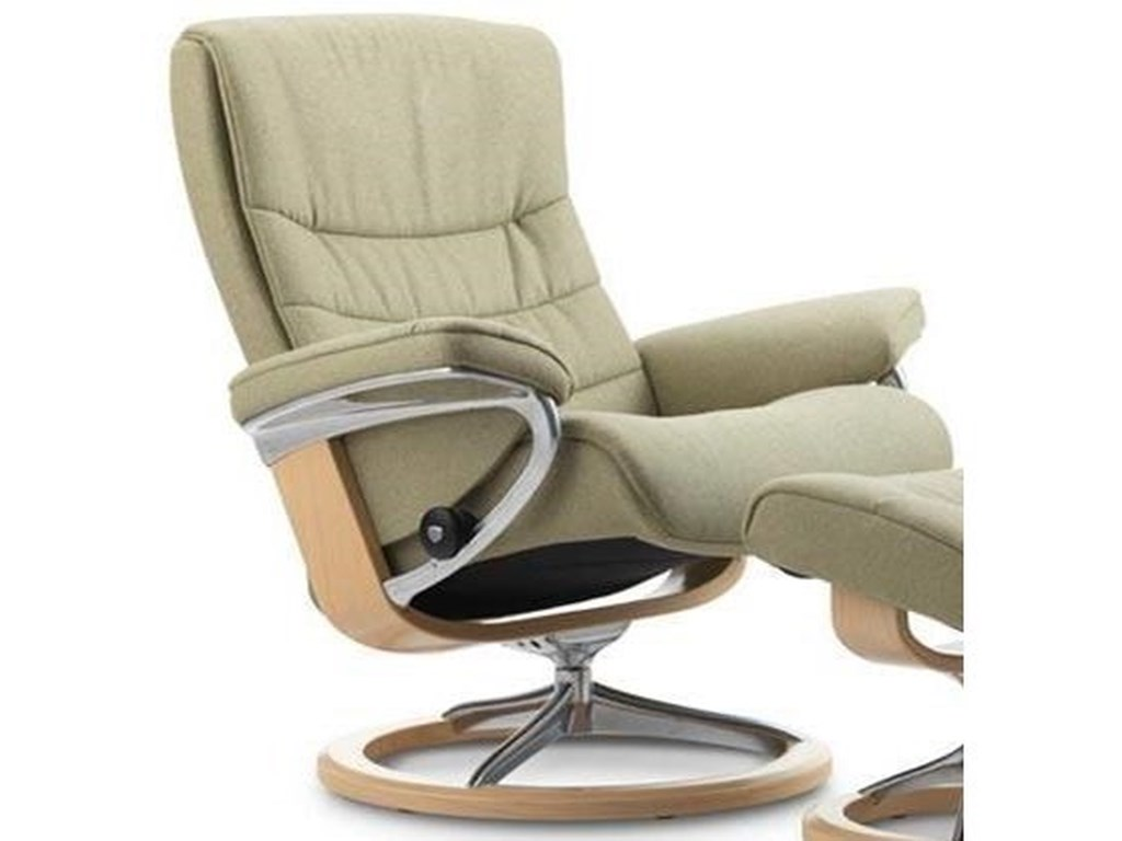 Stressless NordicSmall Reclining Chair with Signature Base