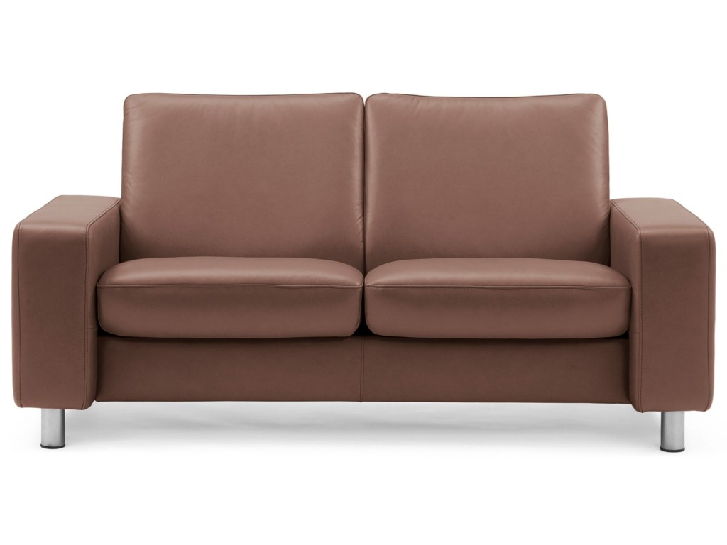 Stressless Stressless PauseLow-Back Reclining Loveseat