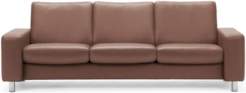 Stressless Stressless Pause Low-Back Reclining Sofa