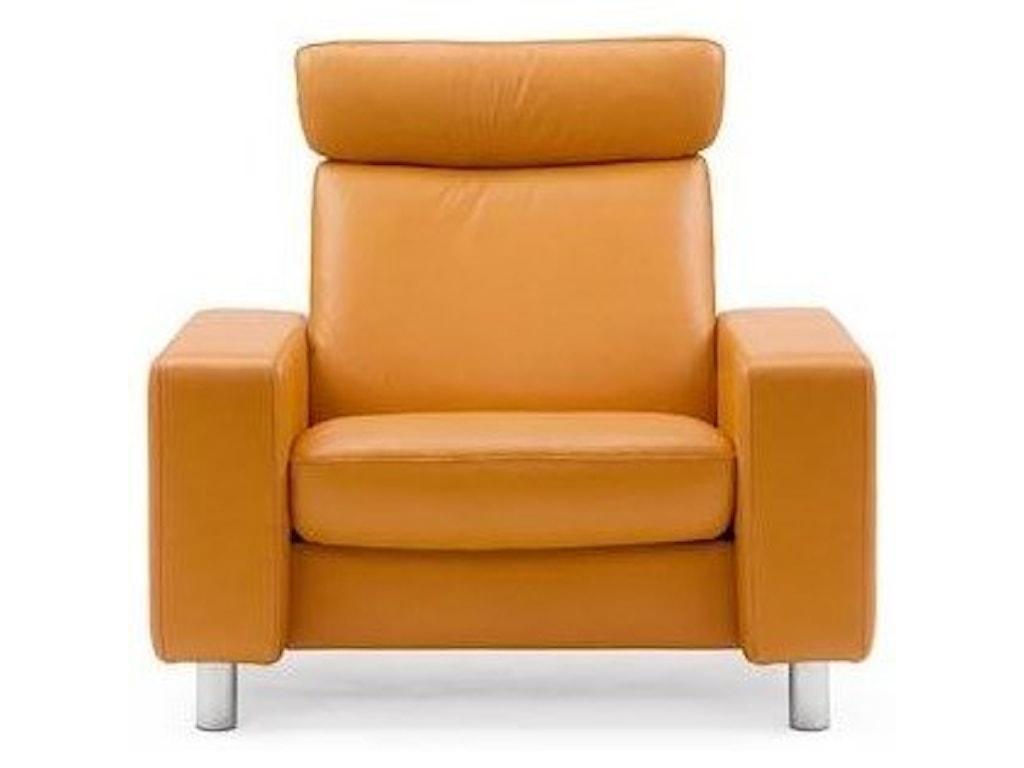 Stressless Stressless PauseHigh-Back Reclining Chair