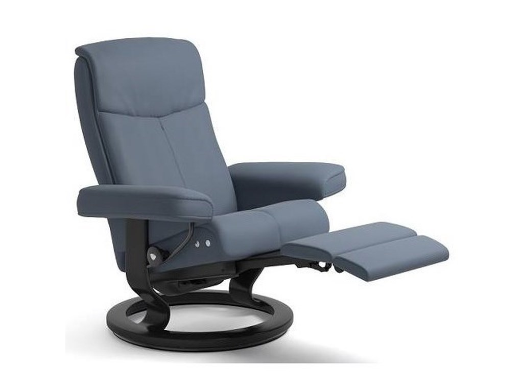 Stressless PeaceMedium LegComfort Chair with Classic Base