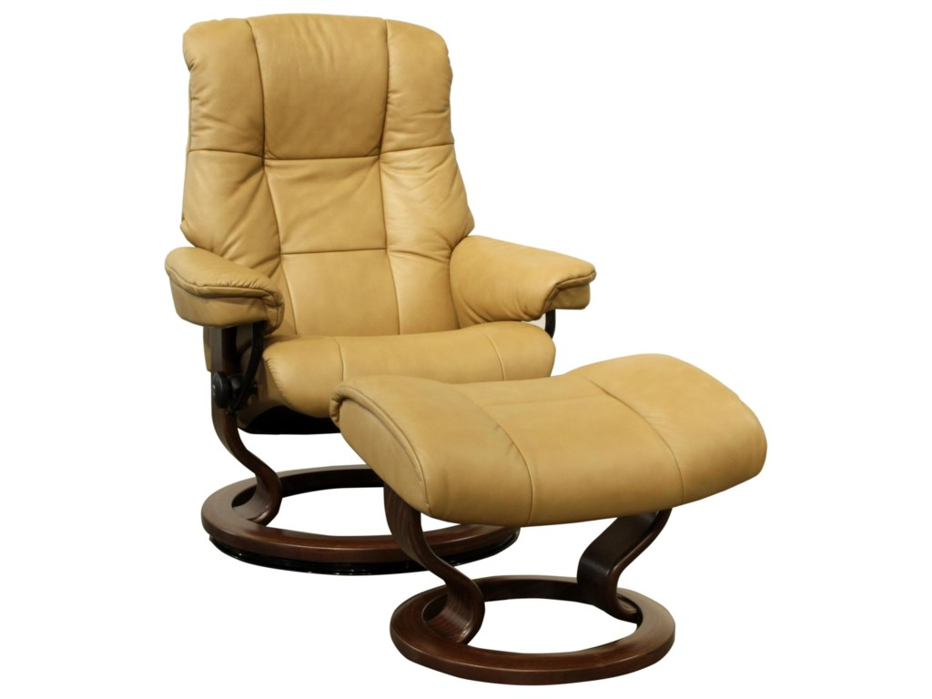 Stressless  Small Stressless Chair & Ottoman