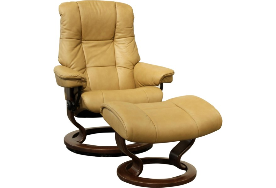 Small Stressless Chair Ottoman By Stressless At HomeWorld Furniture
