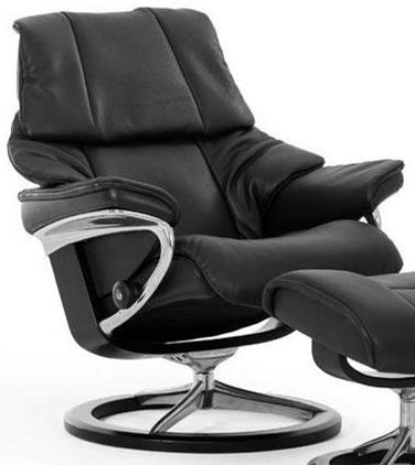 Stressless RenoMedium Reclining Chair with Signature Base