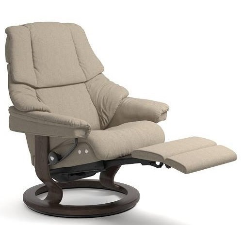 Stressless RenoMedium LegComfort Chair with Classic Base