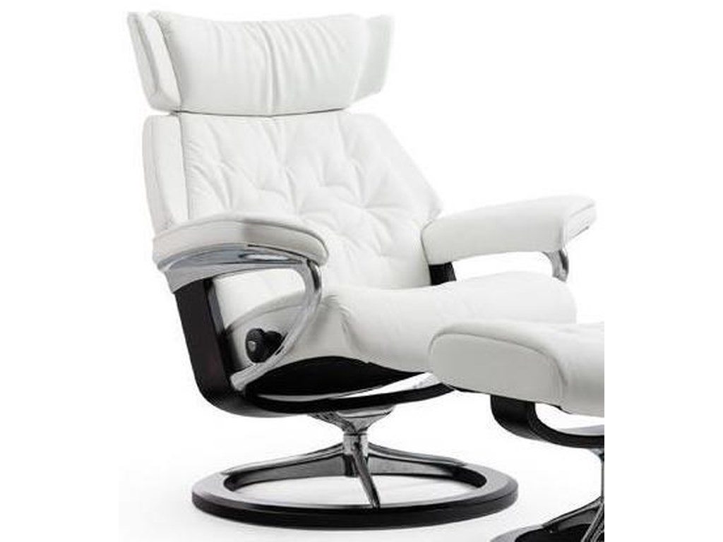 Stressless SkylineMedium Reclining Chair with Signature Base