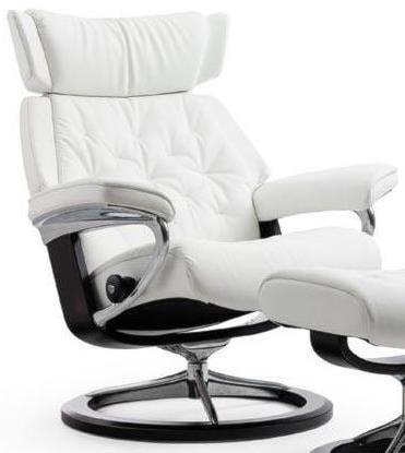 Stressless SkylineMedium Reclining Chair with Signature Base