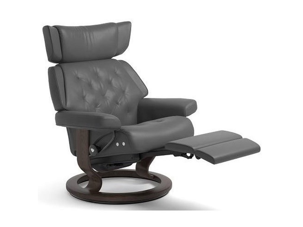 Stressless SkylineMedium LegComfort Chair with Classic Base
