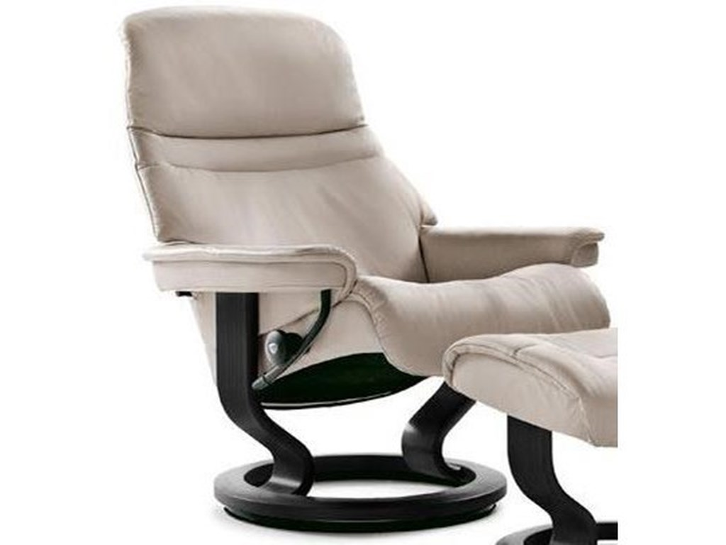 Stressless SunriseSmall Reclining Chair with Classic Base