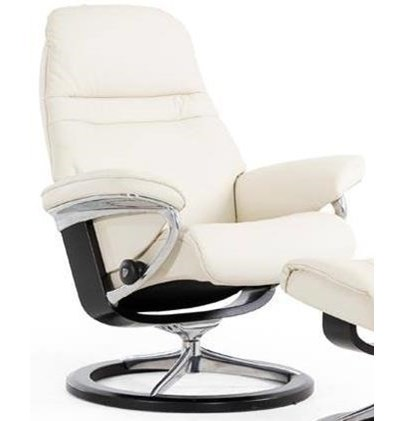 Stressless SunriseSmall Reclining Chair with Signature Base