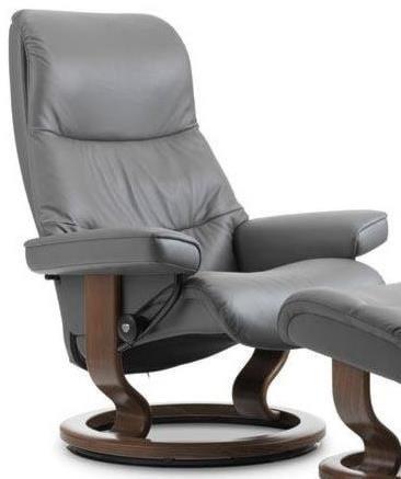Stressless ViewMedium Reclining Chair with Classic Base