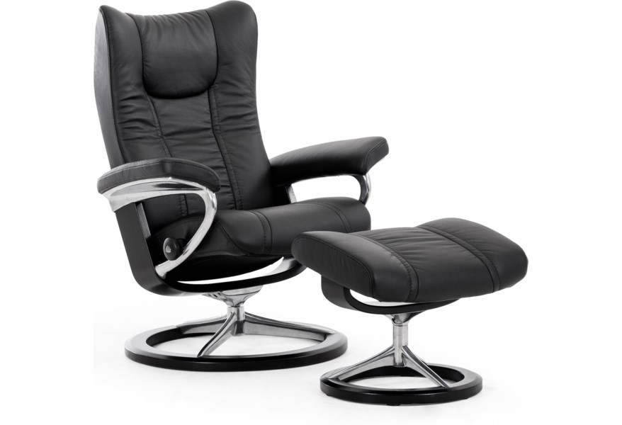Wing 1054315 Small Reclining Chair
