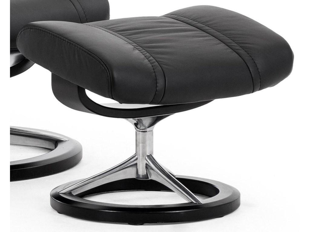 Stressless WingSignature Base Ottoman