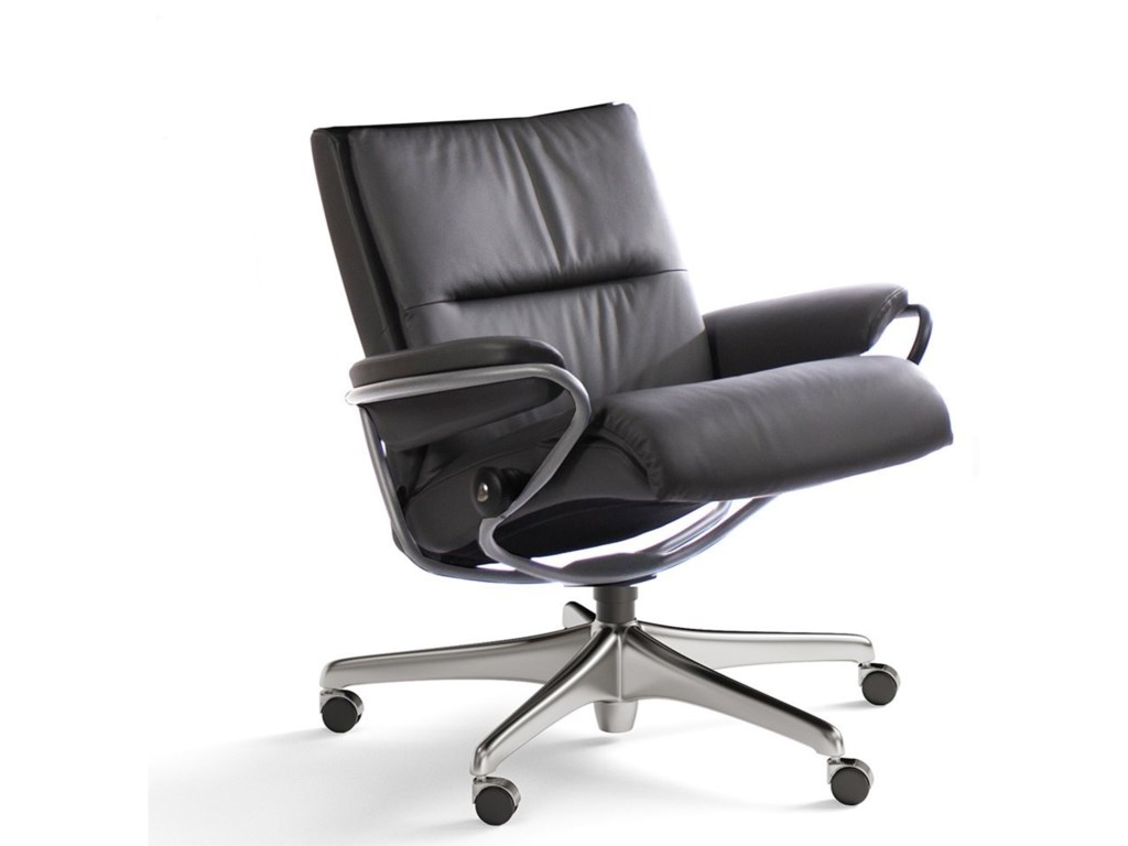 Stressless TokyoLow Back Office Chair with Star Base