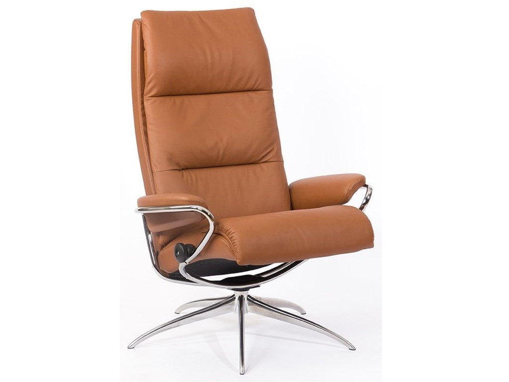 Stressless TokyoHigh Back Chair with Star Base